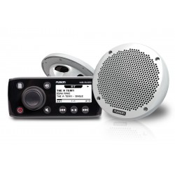 "Fusion RA55 Bundle with EL602 6"" Slimline Marine Speakers - RA55KTS"