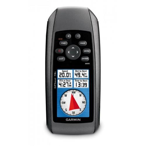 Garmin GPSMAP 78s Handheld GPS - Worldwide basemap - 0100086401