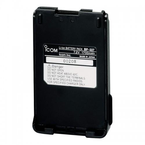 Icom BP227 Li-ion Battery Pack for M87 - BP227
