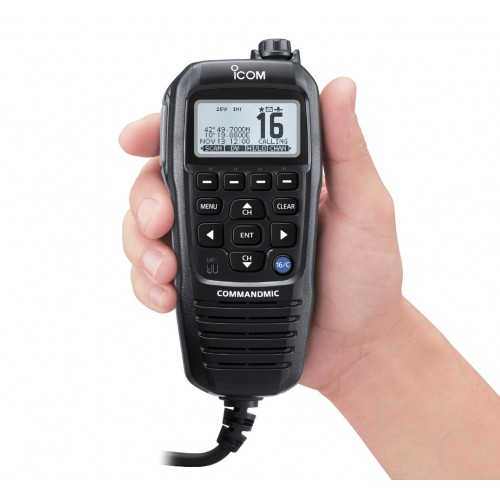 Icom HM-195G Command Mic with GPS for M423G - HM195G - Black