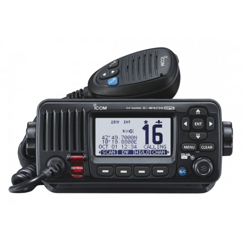 Icom IC-M423GE Fixed Class D VHF/DSC with GPS - M423GE