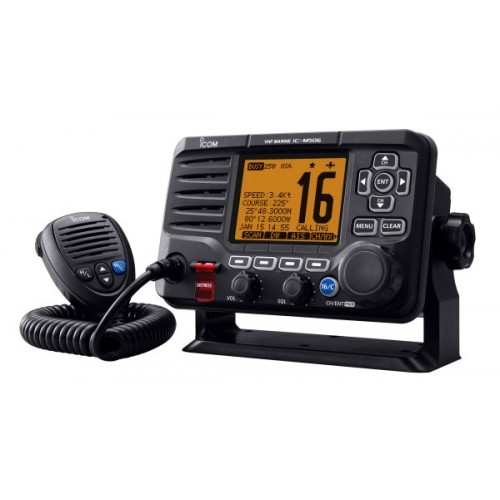 Icom IC-M506 VHF/DSC Marine Transceiver with NMEA 2000 Connectivity - No AIS