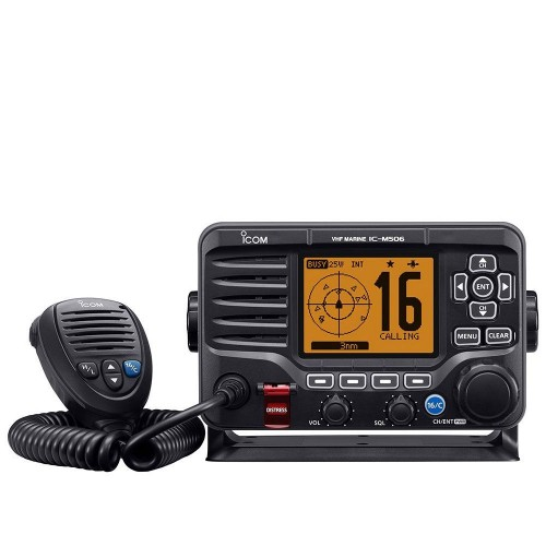 Icom M506GE VHF/DSC with AIS Receiver - IC-M506GE