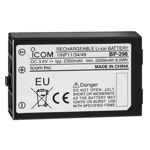 Icom BP296 Replacement Battery for M37E - BP296