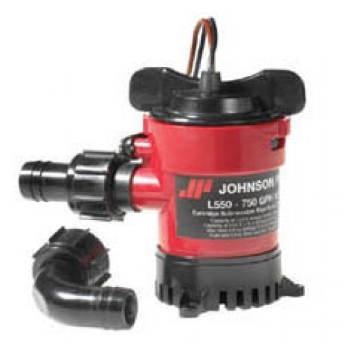 Johnson L650 Duraport Submersible Bilge Pump 24v - 0966