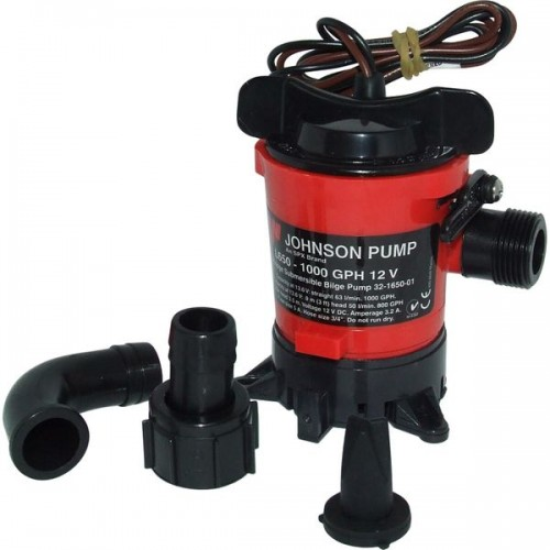 Johnson L650 Duraport Submersible Bilge Pump 24v - 0966