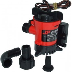 Johnson Ultima Submersible Bilge Pump 12v - L450D