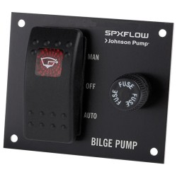 Johnson Bilge Pump Switch Panel 24v - 1225