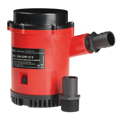 Johnson L2200-01 Submersible Bilge Pump - 12v
