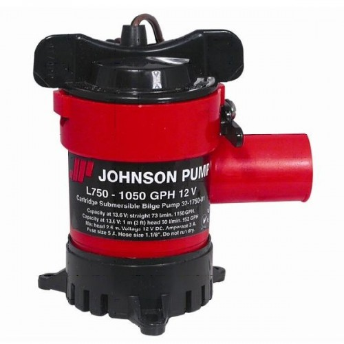 Johnson L750 Duraport Submersible Bilge Pump 24v - 0976