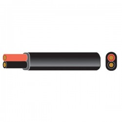 2 Core DC Power Cable 2 x 1.00mm²