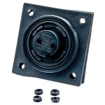 Buccaneer Waterproof Flange Mounted Socket - 6 Way