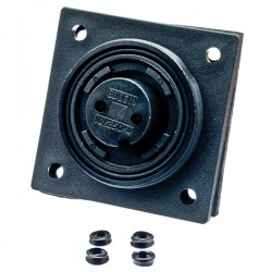 Buccaneer Waterproof Flange Mounted Socket - 2 Way