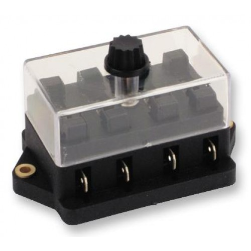 Blade Fuse Holder Block - 4 Way