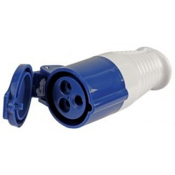 Shore Supply Socket 16A - Blue