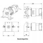 Lewmar Bavaria Integra Autopilot Drive Pack - L89300136