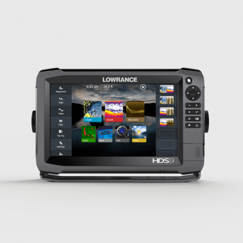 Lowrance HDS-9 GEN3 Multi Touch Chartplotter with Structure Scan - 000-11800-001