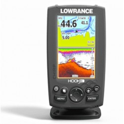 Lowrance Hook-4 Mid/High Range Chirp/DownScan Sounder With Transom Transducer - 000-12647-001