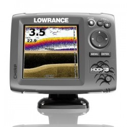 Lowrance Hook-5X Mid/High Range Chirp/DownScan Sounder With Transom Transducer - 000-12653-001