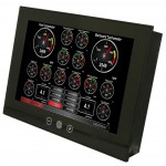 Maretron Vessel Monitoring/Control Touchscreen Display - TSM1330C-01