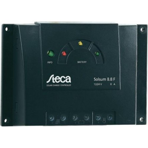 Steca Solsum Solar 8.8F 8A Regulator - 11/15