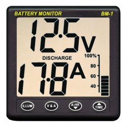 NASA Marine Clipper BM-1 Battery Monitor System 24v - BM1-24