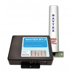 NASA Marine BT3 Bluetooth Navtex Receiver with Series 2 Antenna - BT3-S2