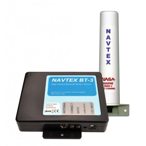 NASA Marine BT3 Bluetooth Navtex Receiver with Series 2 Antenna - BT3-S2