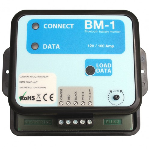 NASA Marine BM-1 Battery Monitor 12v - Bluetooth