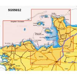 Navionics+ Small Chart Card - Ile De Batz-Carentan inc Channel Isles - 5G556S2/UK