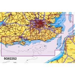 Navionics+ Small Chart Card - Portland to Walton-on-the-Naze - 5G822S2/UK