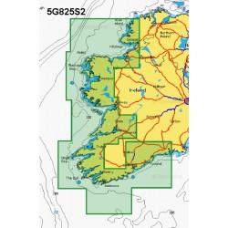 Navionics+ Small Chart Card - Waterford to Aran Island - 5G825S2/UK