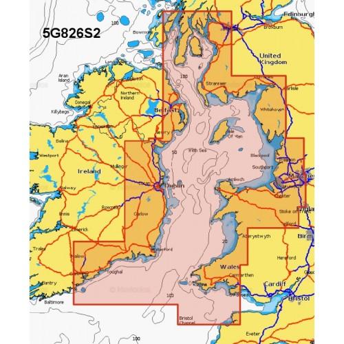 Navionics+ Small Chart Card - Irish Sea and Scotland South West - 5G826S2/UK