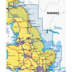 Navionics+ Small Chart Card - Southend to Anstruther - 5G849S2/UK