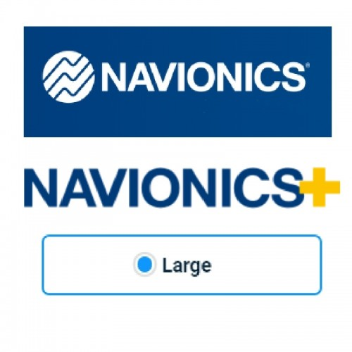 Navionics+ Large Chart Cards - Other Areas