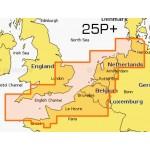 Navionics Platinum+ Large Chart Card - UK South to Hamburg - 25P+/UK