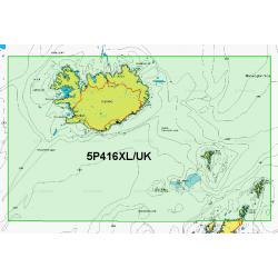 Navionics Platinum+ Small Chart Card - Iceland to Faroe Isles - 5P416XL/UK