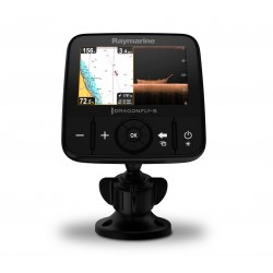 "Raymarine Dragonfly 5PRO 5"" Colour Fishfinder with European C-MAP Chart - E70293-CEUR"