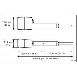 Raymarine Stern Drive Unit - M81138