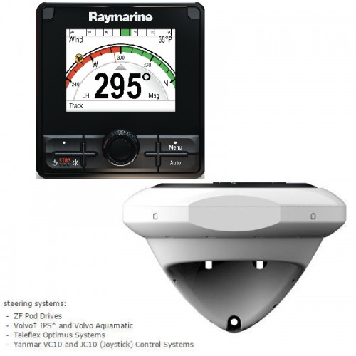 Raymarine p70Rs Evolution EV-DBW Pilot Pack, Fly By Wire - T70164