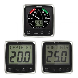 Raymarine i50 and i60 Wind Speed Depth with 3 Transducers Pack - E70153