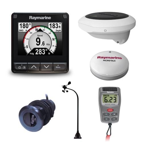 Raymarine i70s Wireless Vertical Wind DST800 Heading Sensor and Backbone Kit - T70342