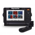 "Raymarine Element 7HV 7"" Chart Plotter with Hypervision, HV-100 Transducer & Lighthouse Download Chart - E70532-05-202"