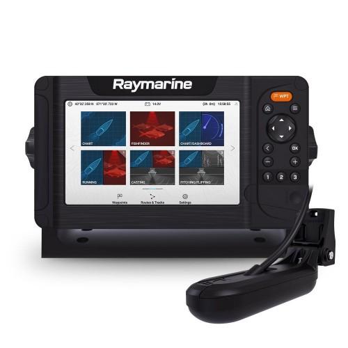 """Raymarine Element 7HV 7"""" Chart Plotter with Hypervision & HV-100 Transducer - E70532-05"""