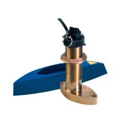 Raymarine B744VL Bronze Long Stem Through Hull Retractable Triducer - A66092