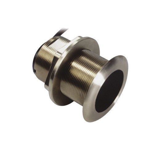 Raymarine B60 Bronze Dual Freq Through Hull Transducer with 20° Tilted Element - E66085