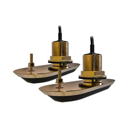 Raymarine RV-220 RealVision 3D Bronze Thru Hull Transducer Pack - T70319