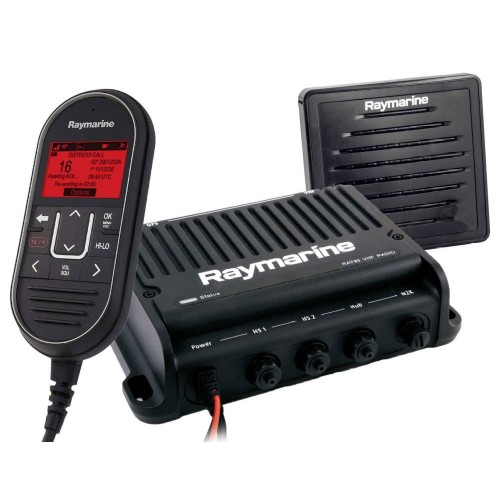 Raymarine Ray91 VHF Black Box with AIS, Wired Handset and Passive Speaker - E70493