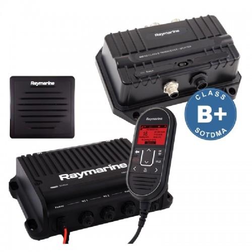 Raymarine Ray90 VHF Black Box with AIS 700, Wired Handset and Passive Speaker - T70424
