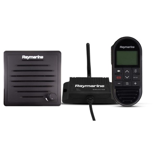 Raymarine Ray90/91VHF Wireless Station with Handset, Hub and Active Speaker - T70433